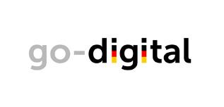 Logo des Förderprogramms go-digital