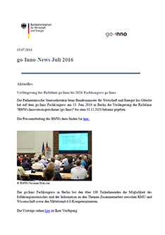 Screenshot go-Inno-News Juli 2016