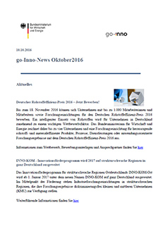 Screenshot go-Inno-News Oktober 2016