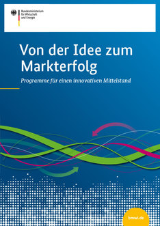 Broschüre Von der Idee zum Markterfolg