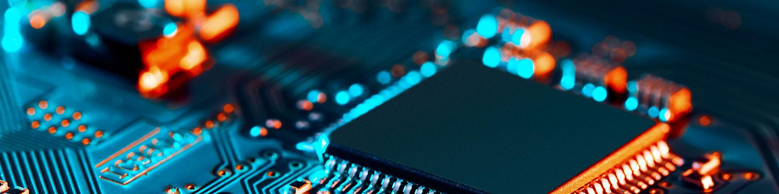 Computerchip zum Thema Digitalisierung