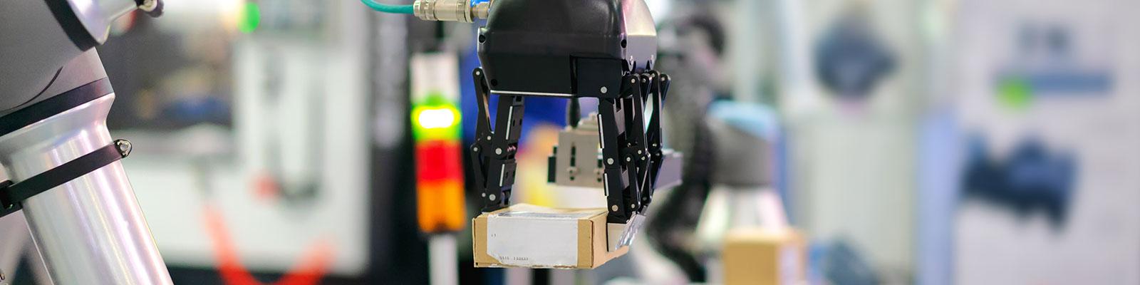 Roboterarm zum Thema Industrie 4.0