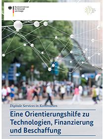 Cover der Publikation Digitale Services in Kommunen